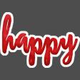 Celine Happy Wordart