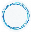::Pearl:: Doodled Paper Circle