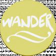 """::Pearl:: Wordart """"wander"""""""