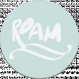 "::Pearl:: Wordart ""roam"""