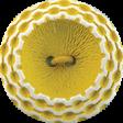 ::Xanthe:: Yellow Vintage Button