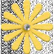 ::Xanthe:: Yellow Chipboard Flower