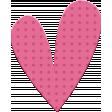 ::Kids Ahead Kit:: Pink Plastic Heart