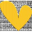 ::Kids Ahead Kit:: Yellow Plastic Heart