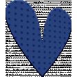 ::Kids Ahead Kit:: Blue Plastic Heart