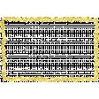 ::Raindrops & Rainbows Kit:: Gold Glitter Frame