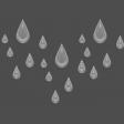 ::Raindrops & Rainbows Kit:: Acrylic Raindrops