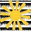 ::Kids Ahead Kit:: Stitched Felt Sun