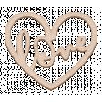 ::Retro Holly Jolly Kit:: Love Heart