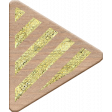 Genevieve Kit: Gold Striped Arrow Right