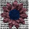 Genevieve Kit: Fabric flower with Pom Pom Center