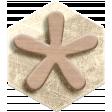 Genevieve Kit: Hexagon with Wooden Flower
