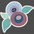 Genevieve Kit: Flower Sticker