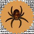 Elvira: Elements: Spider Badge
