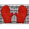 Joy: Red Woolen Mittens