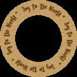 """Joy: WA Ring """"Joy to the World"""""""