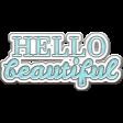 Felicity: WA Hello Beautiful Blue