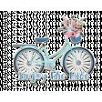 Enjoy the Ride Bike Chipboard