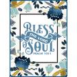 Navy Blue & Aqua Bless the Lord Pocket Card