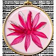 Pink Flower Brad