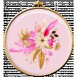 Pink Flower Brad 2