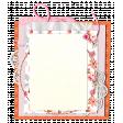 Pink & Orange Floral Cluster Frame