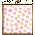 Pink & Orange Square Brad