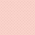Coral Hearts Glitter Paper