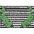 Green Ceramic Laurel 02