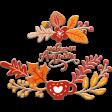 Welcome Autumn Chipboard