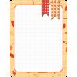 Autumn Journal Card 12