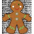 Christmas Gingerbread Cookie 03