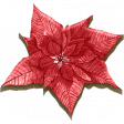 December Daily Add-On Elements: Flower 02