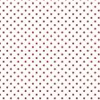 Winter Snow Mini Kit: Red Polka Dot Paper 06
