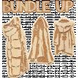 Bundle Up Wood Word Art with Coats