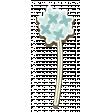 Renaissance Faire Mini Kit: Chipboard Flower Dandelion