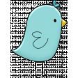 Love Story Enamel Bird 2