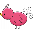Love Story Enamel Bird 3