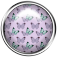 Lilac Aqua Element 12 Butterfly Brad