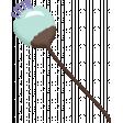 Lilac Aqua Element 09 Enamel Flower