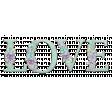 Lilac Aqua Word Art Love Floral Chipboard