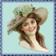 Lilac Aqua Element 35 Vintage Lady