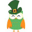 Saint Patrick Cute Bird 08