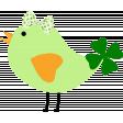 Saint Patrick Bird with Bow