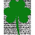 Saint Patrick Shamrock