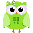 Saint Patrick Owl with Bow Element