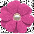 Retro Camper Kit Add-On: Pink Felt Flower