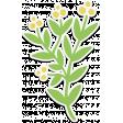 Flower Sticker with Shadow