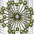 April Add-On: Green Flower Chipboard