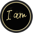 Who I am in Christ Add-On: I am Word Art Circle